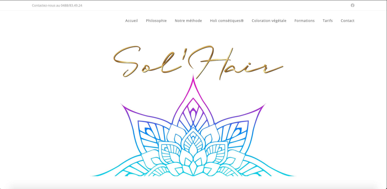Duoplus - site web sol'hair